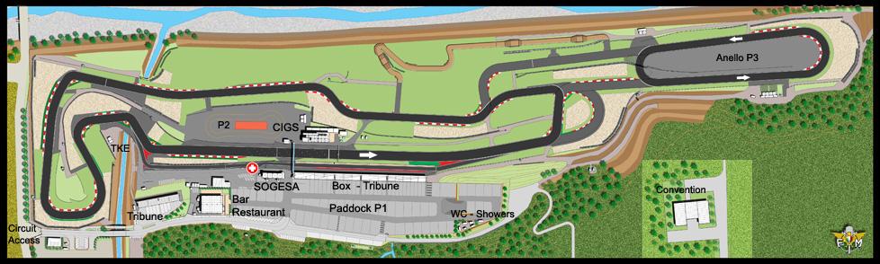Circuito Varano De Melegari : Pista autodromo di varano
