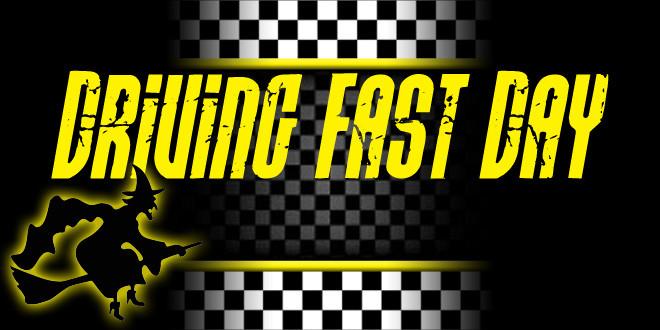 driving fast day - venerdì 6 gennaio