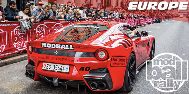 mod ball rally europe - 28 giugno